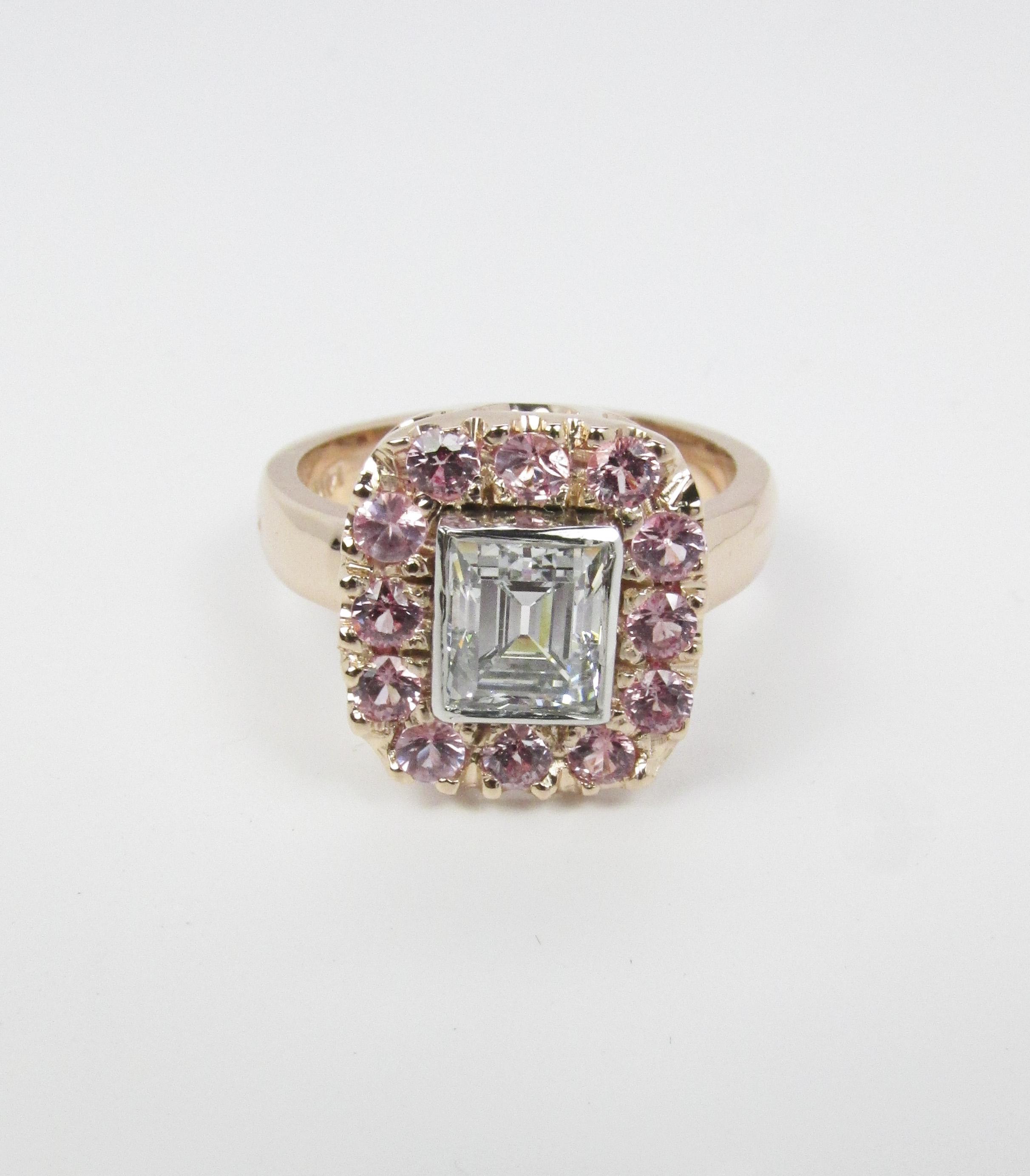 princess_diamond_ring_pink_sapphire_halo_redford_jewelers.jpg