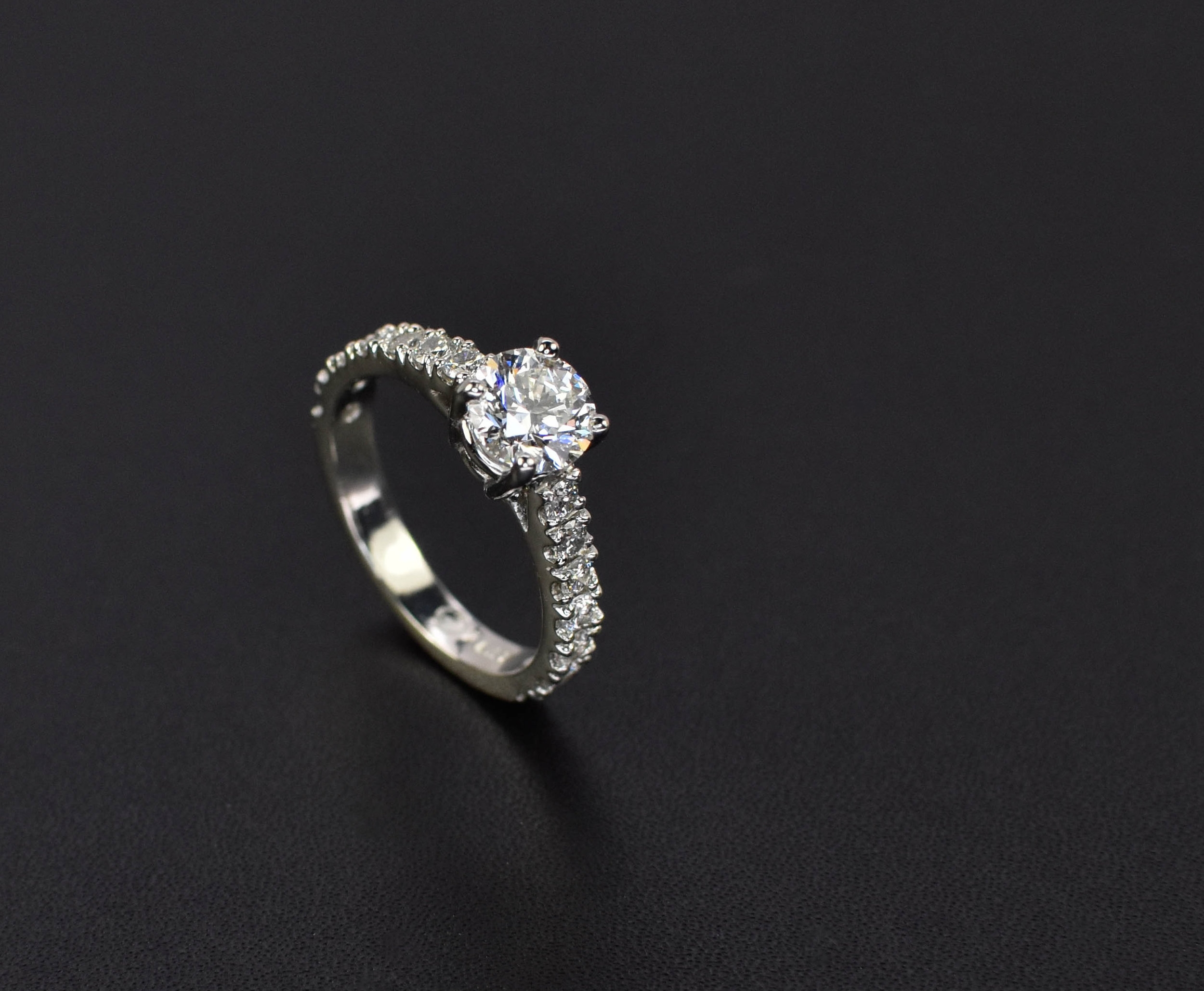 Classic Round Engagement Ring