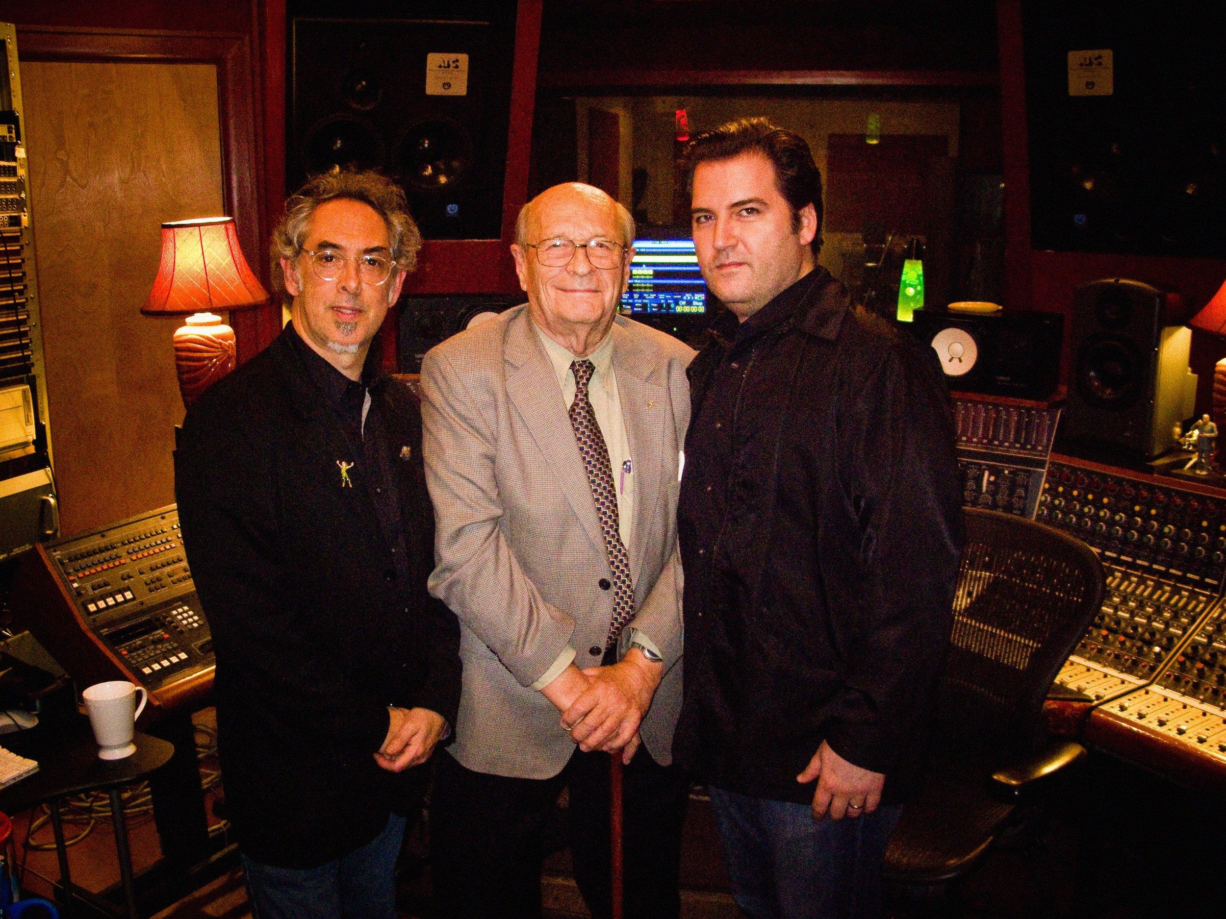 Steve, Rupert Neve and Rob Santos