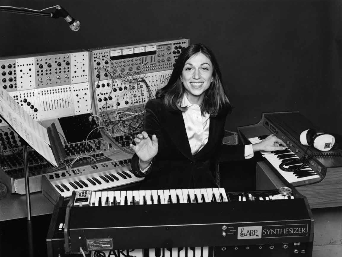 Suzanne Ciani - Electronic Music Pioneer in 1977