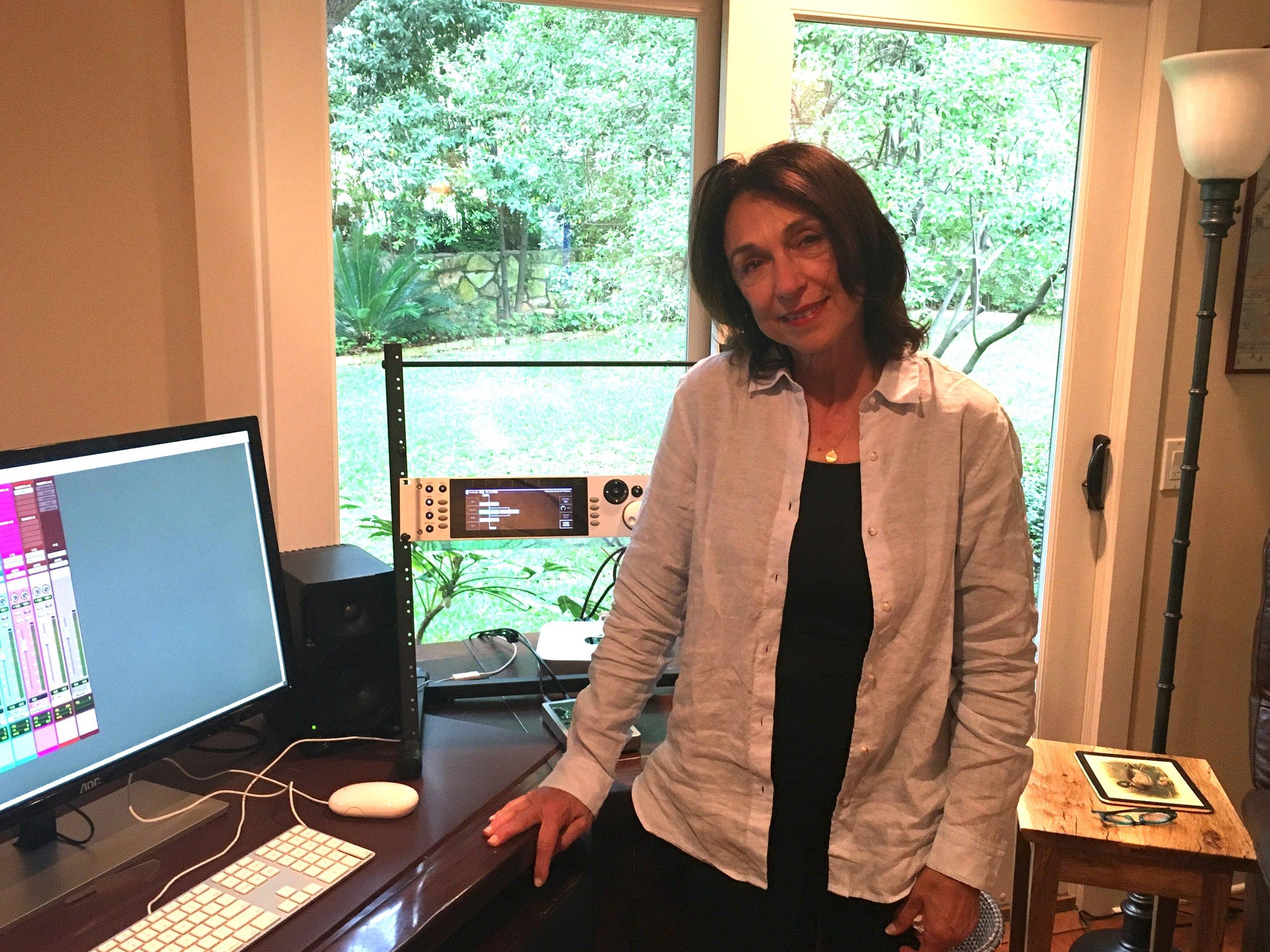 Suzanne Ciani checks out the Eventide H9000