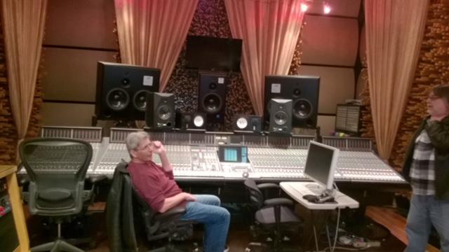 Rod at Blackbird Studios in Nashville