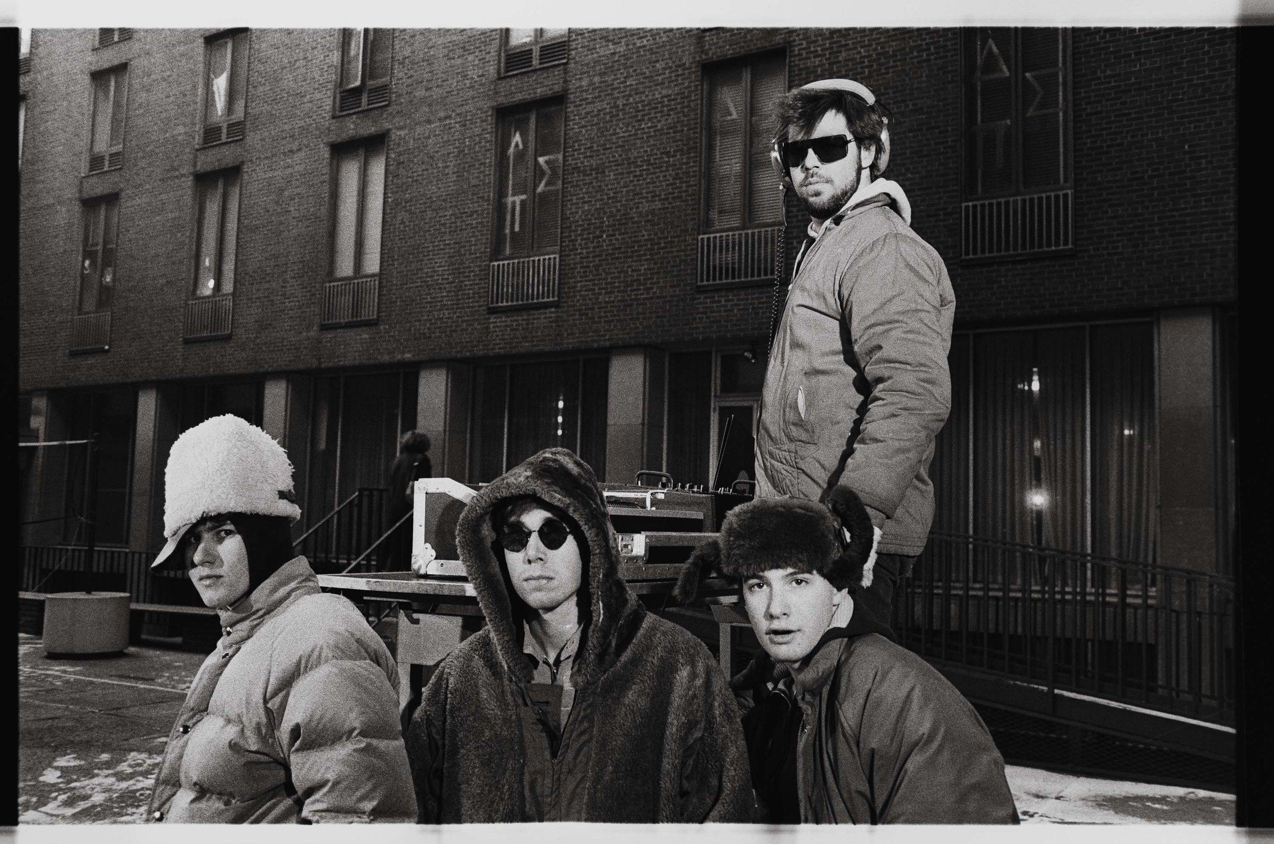 Beastie Boys at Weinstein Dorms NYU 1984