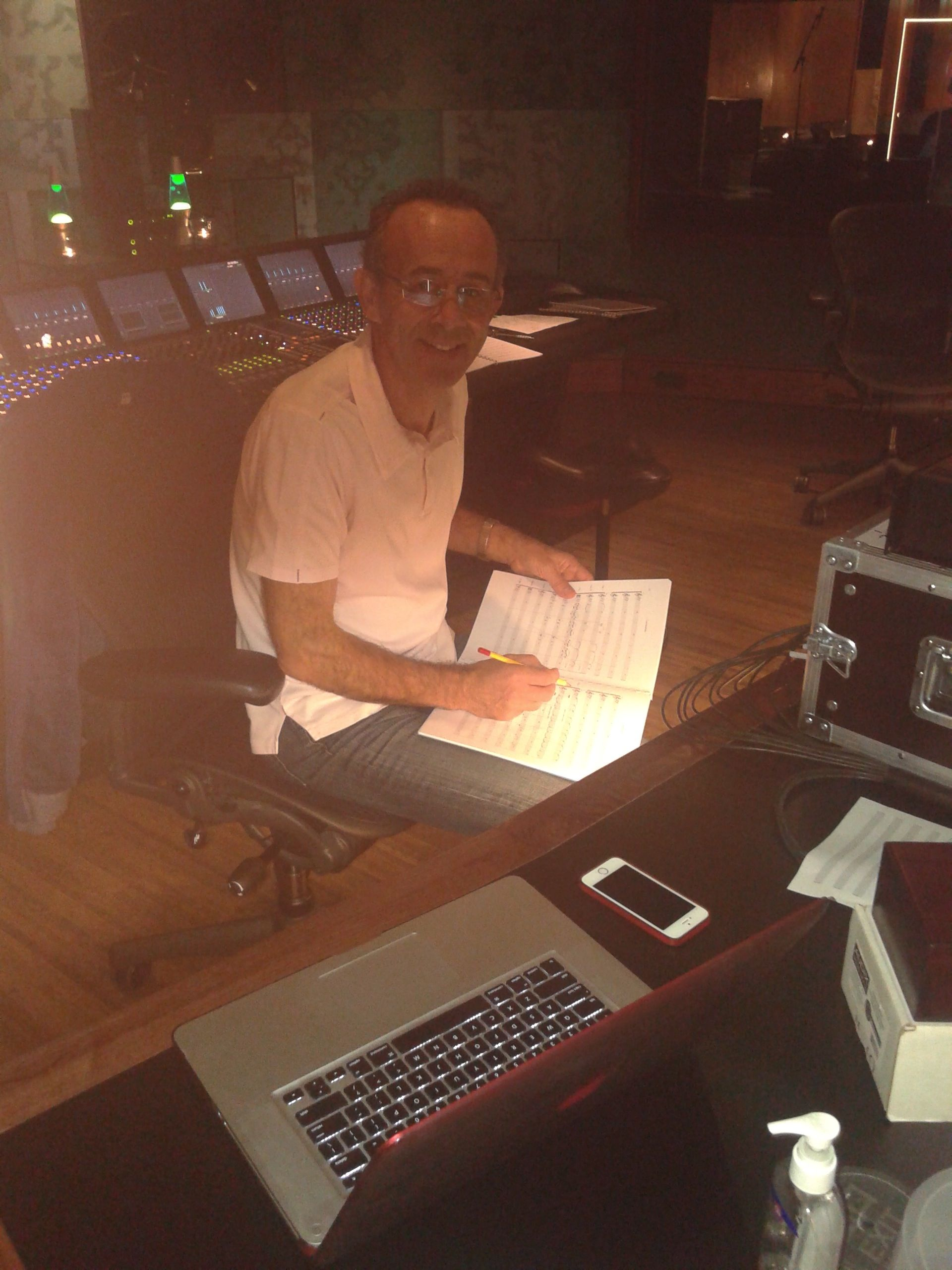 Kevin at Wisseloord Studios, Holland