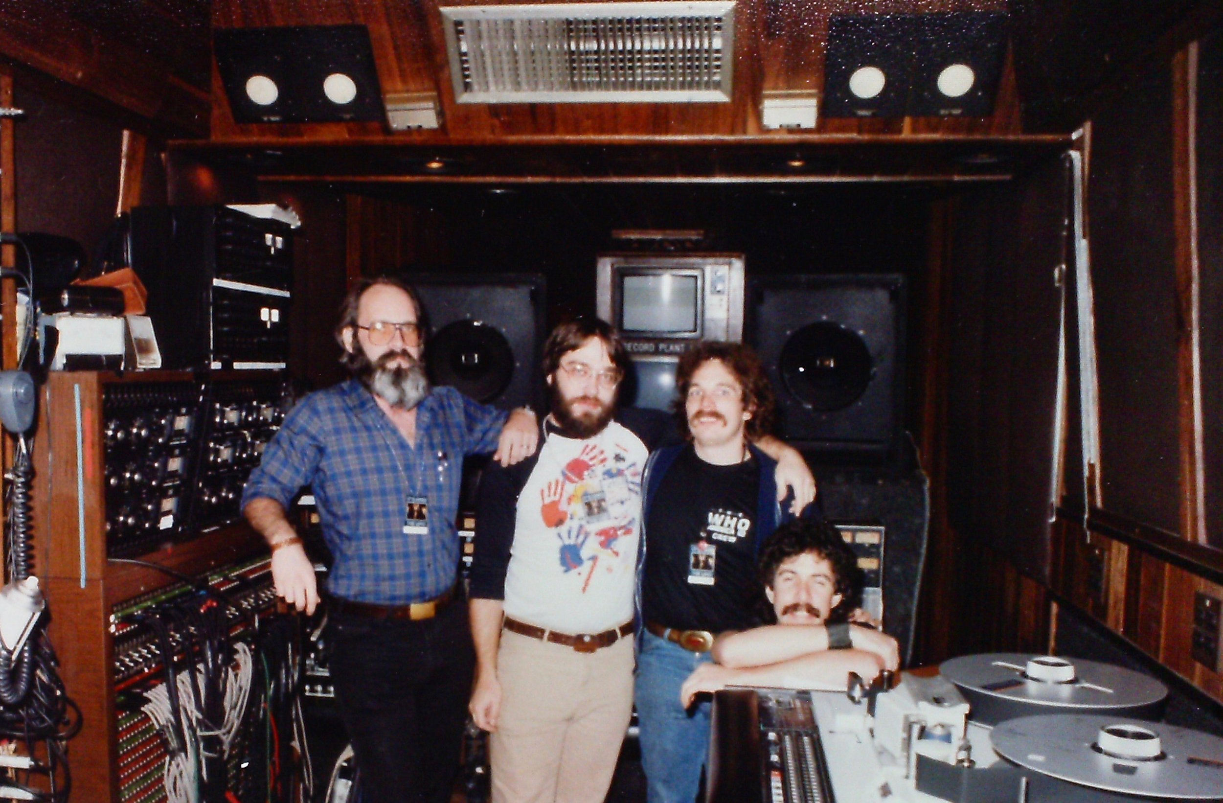 """The Who's """"Last Tour"""" 1982  David Hewitt, David """"DB"""" Brown, Kooster McAllister R.I.P. and Phil Gitomer"""