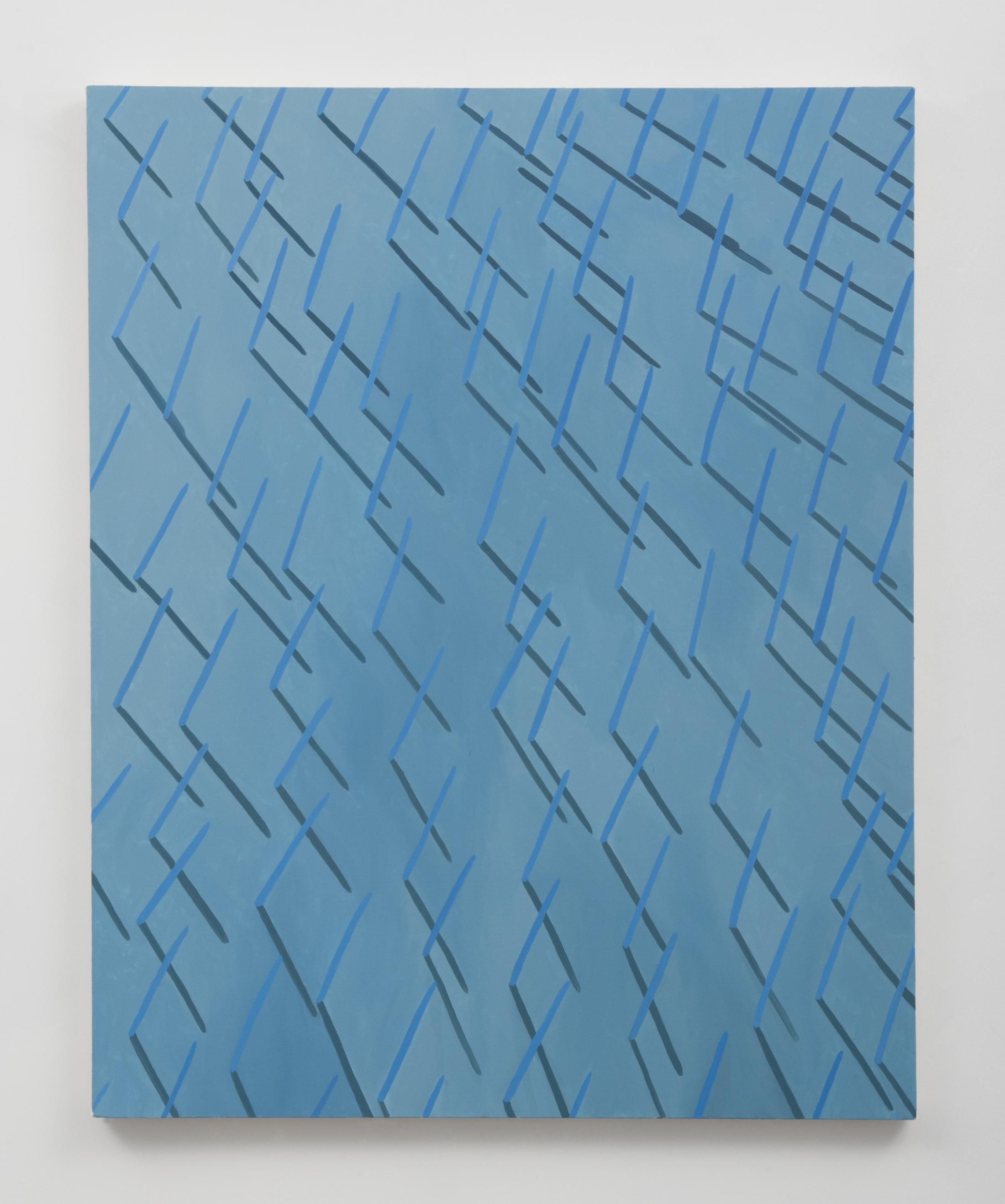 "Corydon Cowansage  Grass #11, 2014 acrylic on canvas, 50 x 40"""