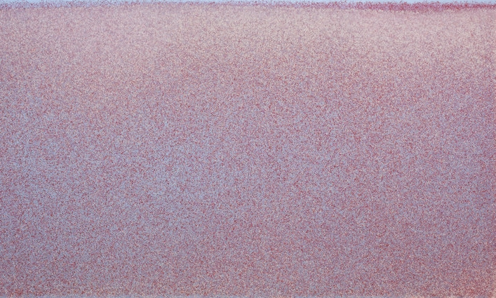 John Knuth  High Dispersion,  2015 Acrylic/flyspeck on canvas, 36 x 60 inches