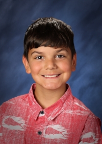 Eli Sheffield  is from Shoreline, WA. His favorite subjects are math, reading and social studies. In his spare time, Eli enjoys learning karate.