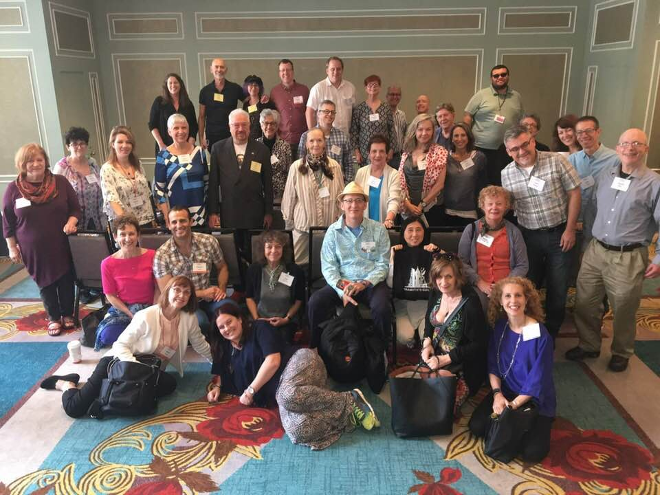 Binge group at 2018 Dramatist's Guild conference