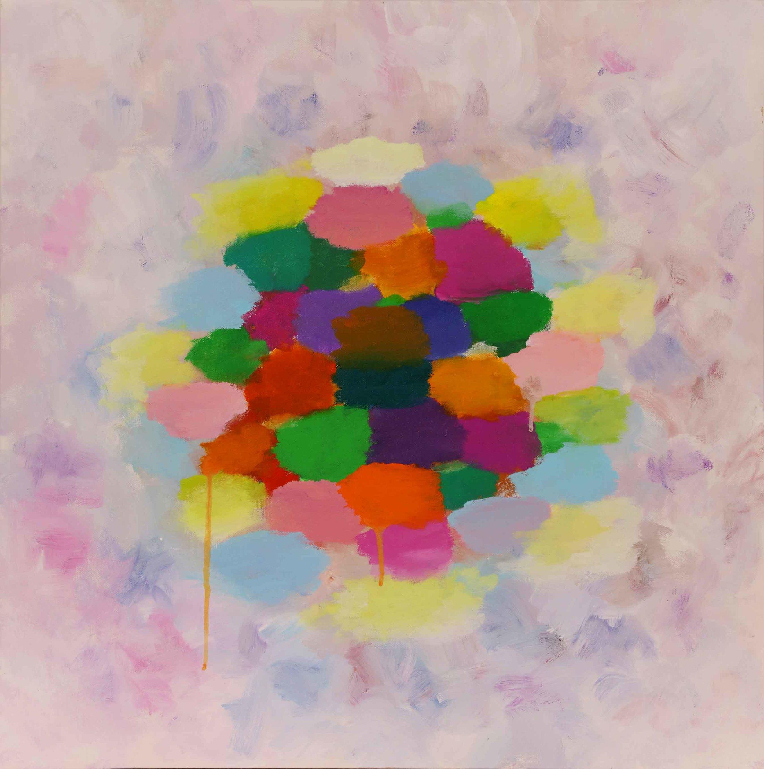 """Drops of Gaia 24""""H x 24""""W x .75""""D"""