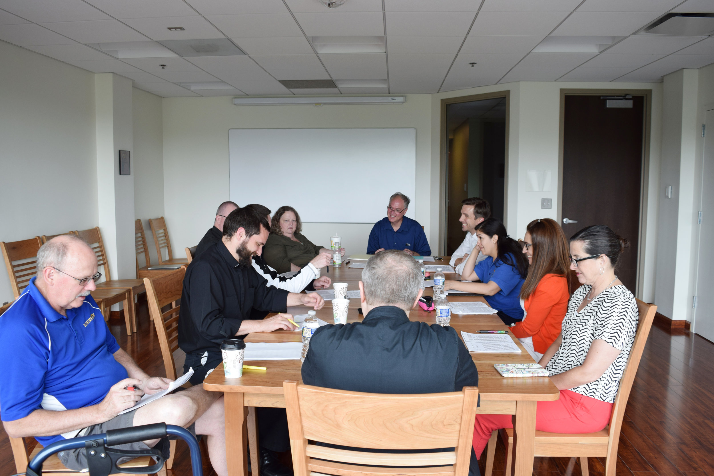 Our first Cana Table Seminar in our new headquarters