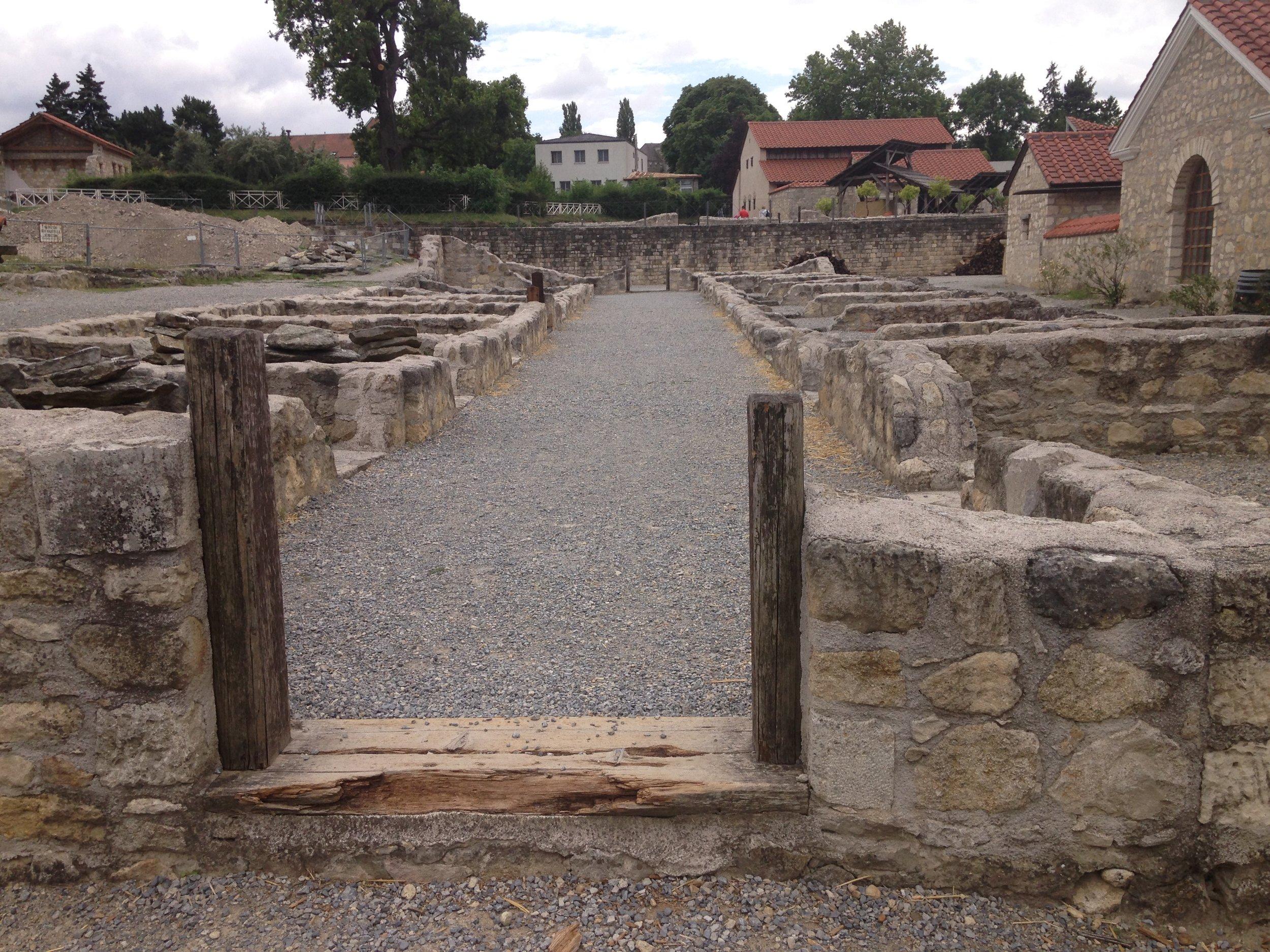 Roman ruins of Carnuntum