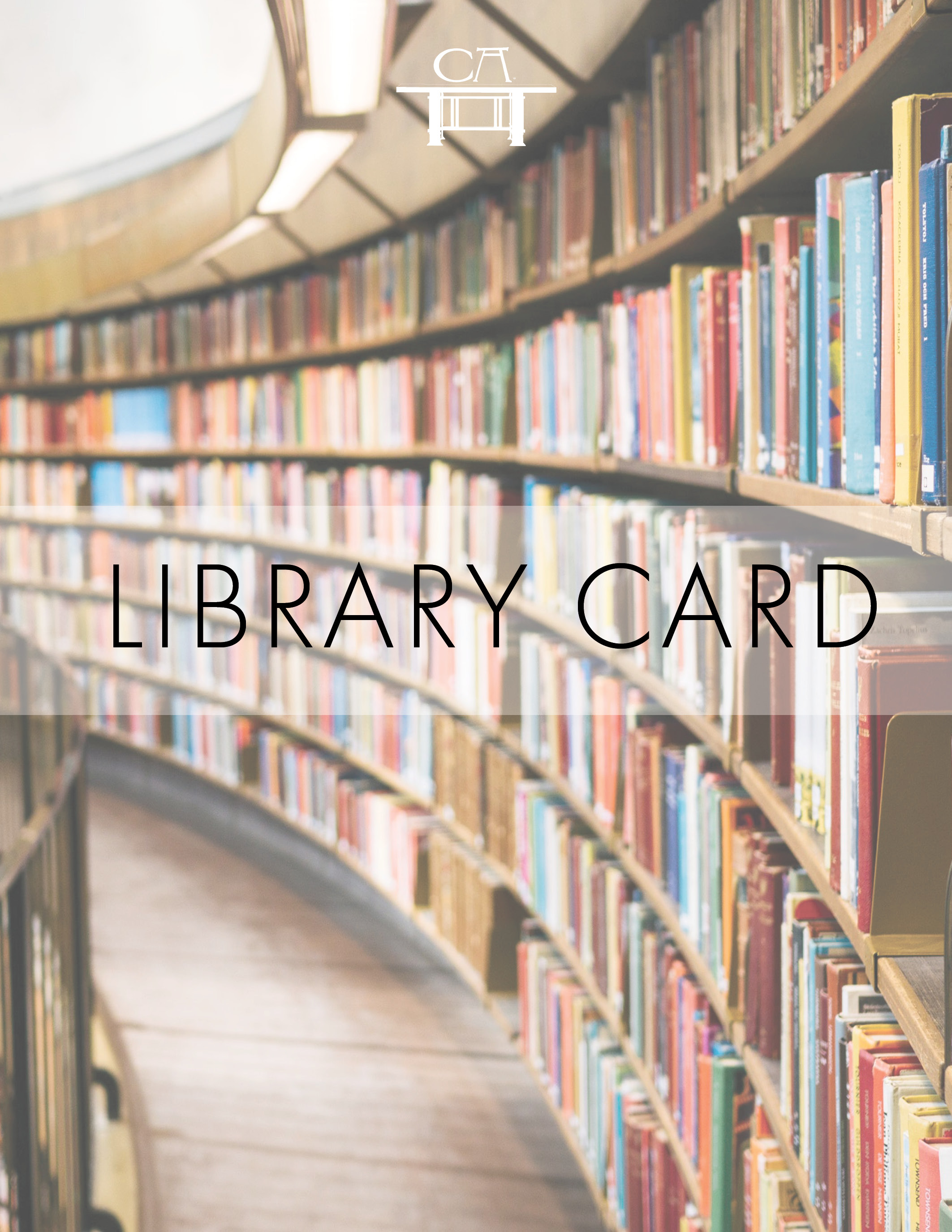Digital Library Card - Open up more opportunities with your Cana Academy Library Card and access all our digital guides, including guides on how to lead discussions on great works of literature. Premium and master members only.