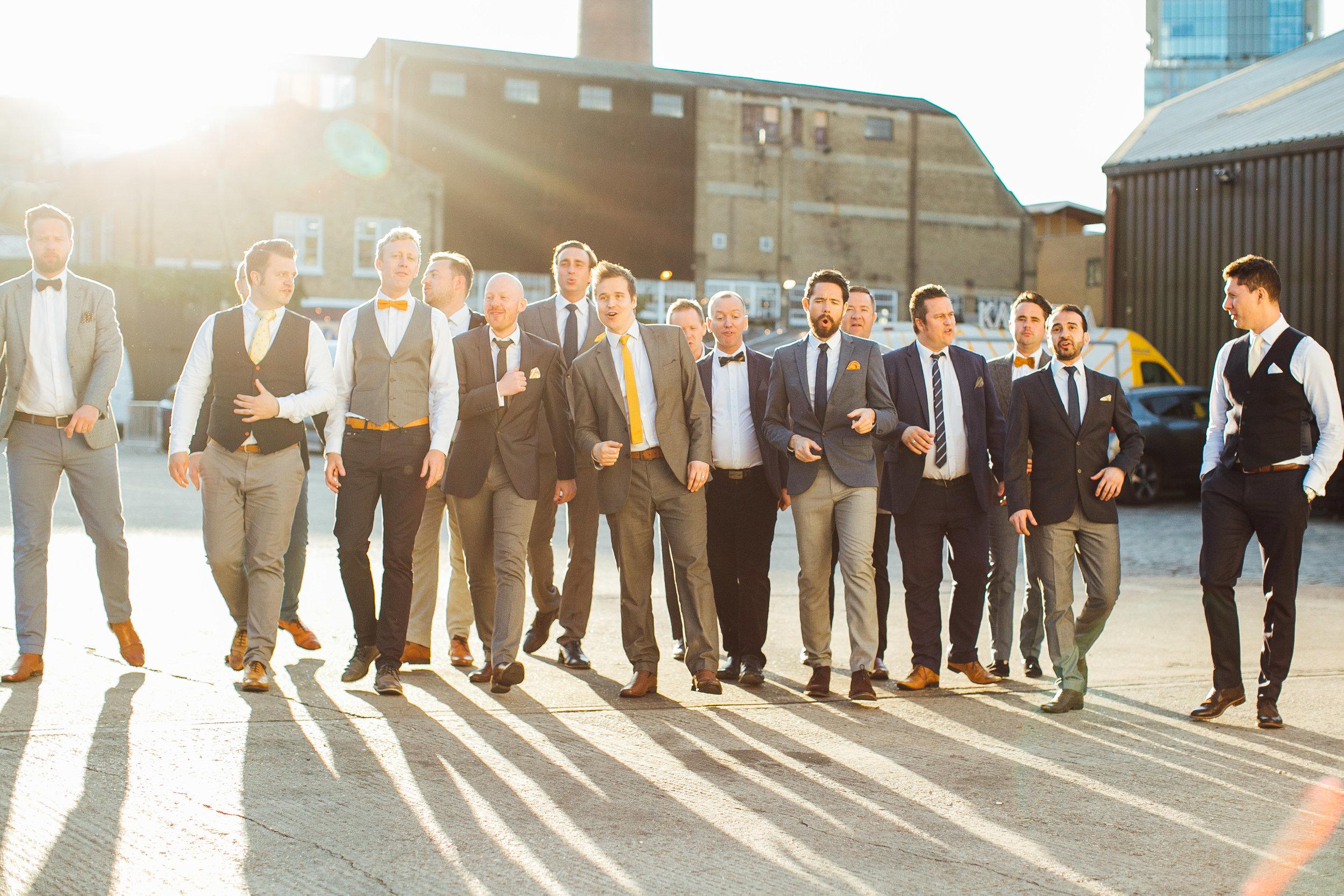 London Wedding Band The Buzztones