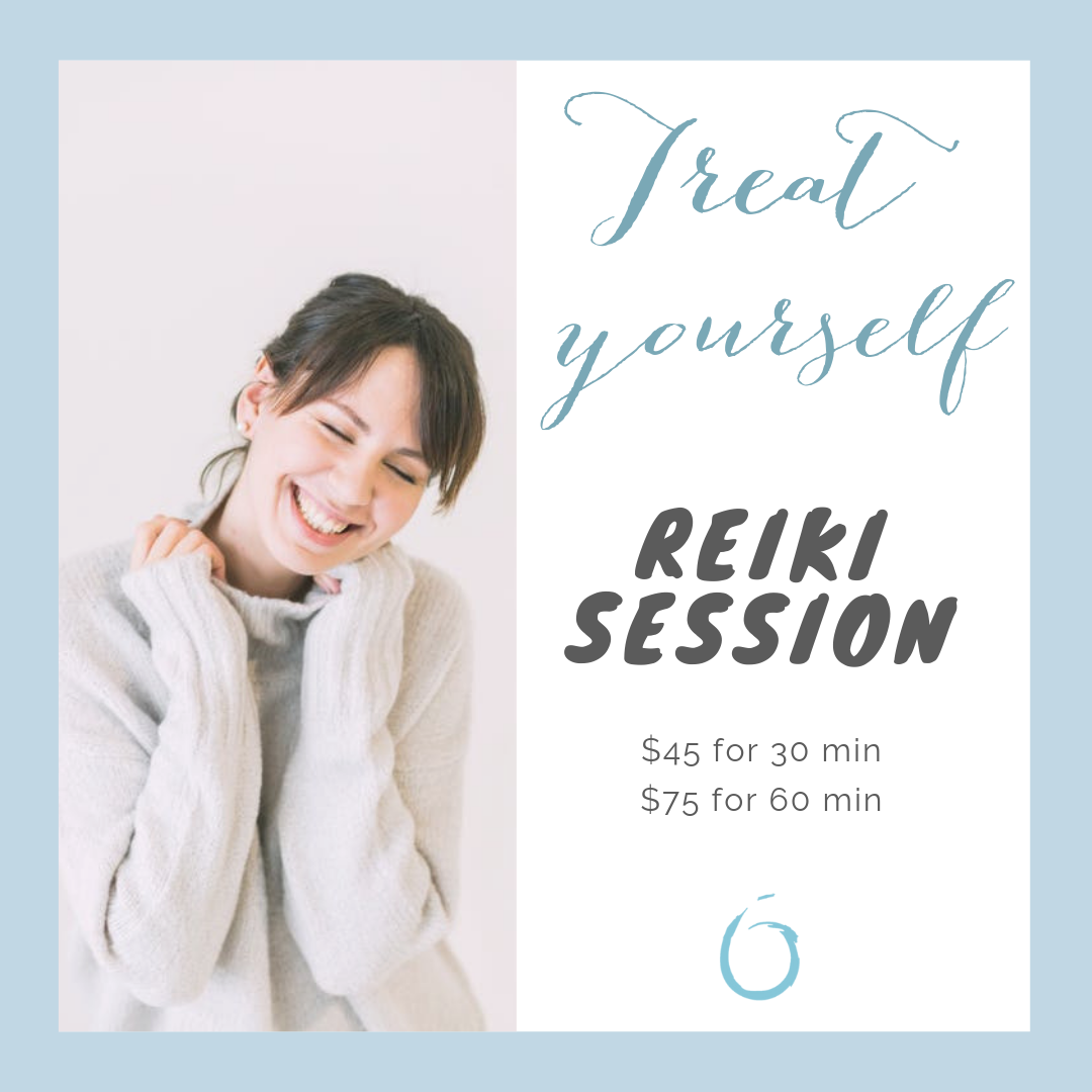 Reiki Promo $30 for 30 min- First visit