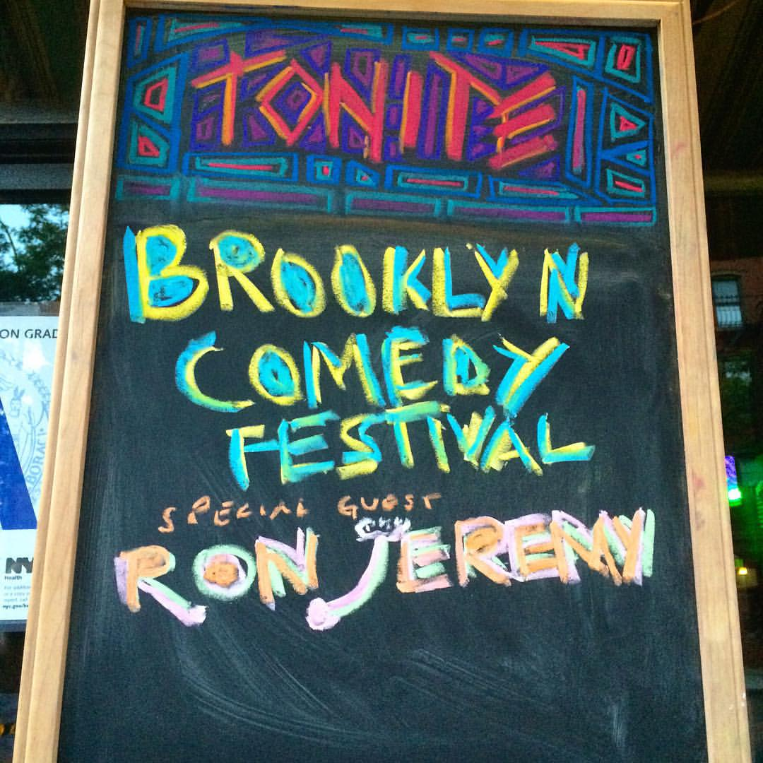 Come join #BKCF and Special Guest @realronjeremy tonight @knittingfactorybk doors at 11pm! (at Knitting Factory Brooklyn)