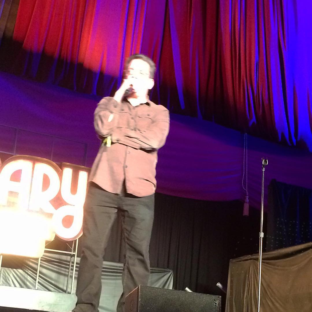 #AndyKindler at #OutsideLands #TheBarbary Comedy & Improv Tent! #OL2015 #BKCF #BrooklynComedyFestival #comedy #improv #SanFrancisco #Brooklyn #BrooklynComedyFest #BKCF2015 #OutsideLands2015 #GoldenGatePark #standup #Barbary (at Outside Lands Music Festival)