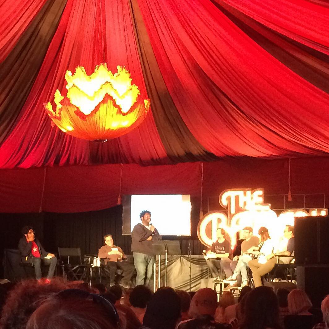 @ronfunch #RonFunches at #OutsideLands #TheBarbary Comedy & Improv Tent for the #UptownShowdownDebate . #BKCF #BrooklynComedyFestival #OL2015 #BrooklynComedyFest #BKComedyFestival  (at Outside Lands Music Festival)