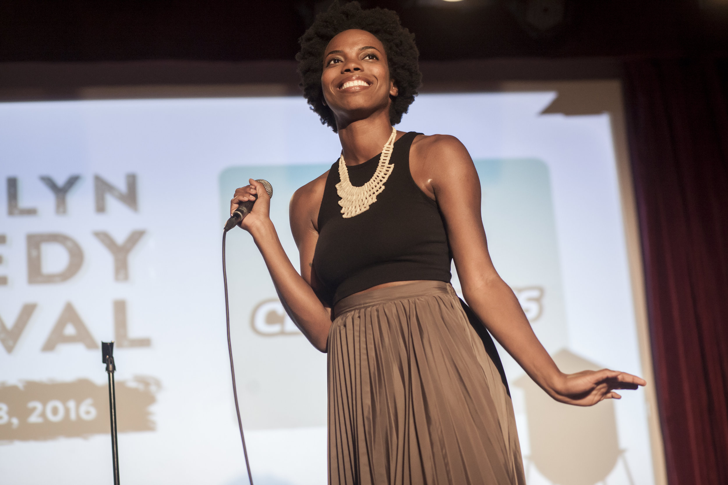 Sasheer Zamata @ The Bell House 2016