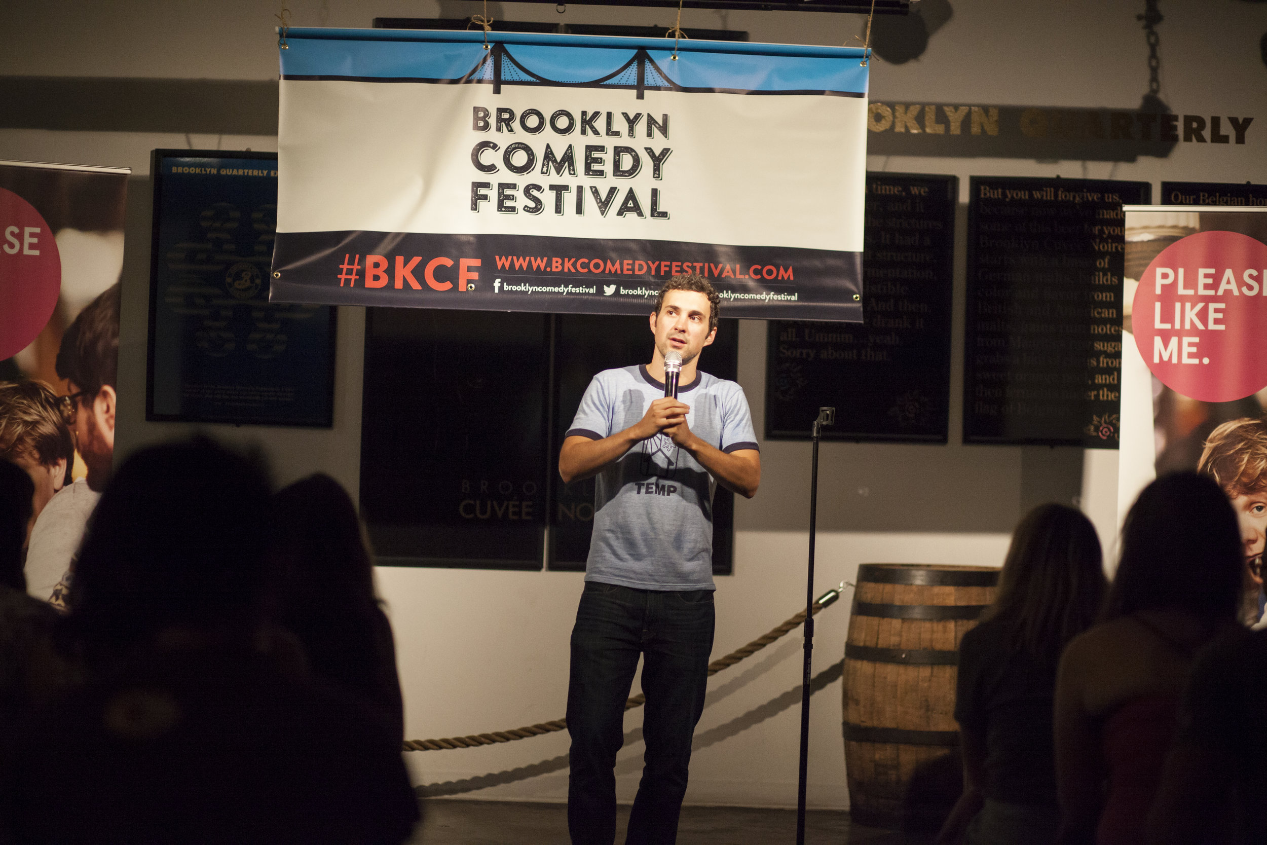 Mark Normand @ Brooklyn Brewery 2014