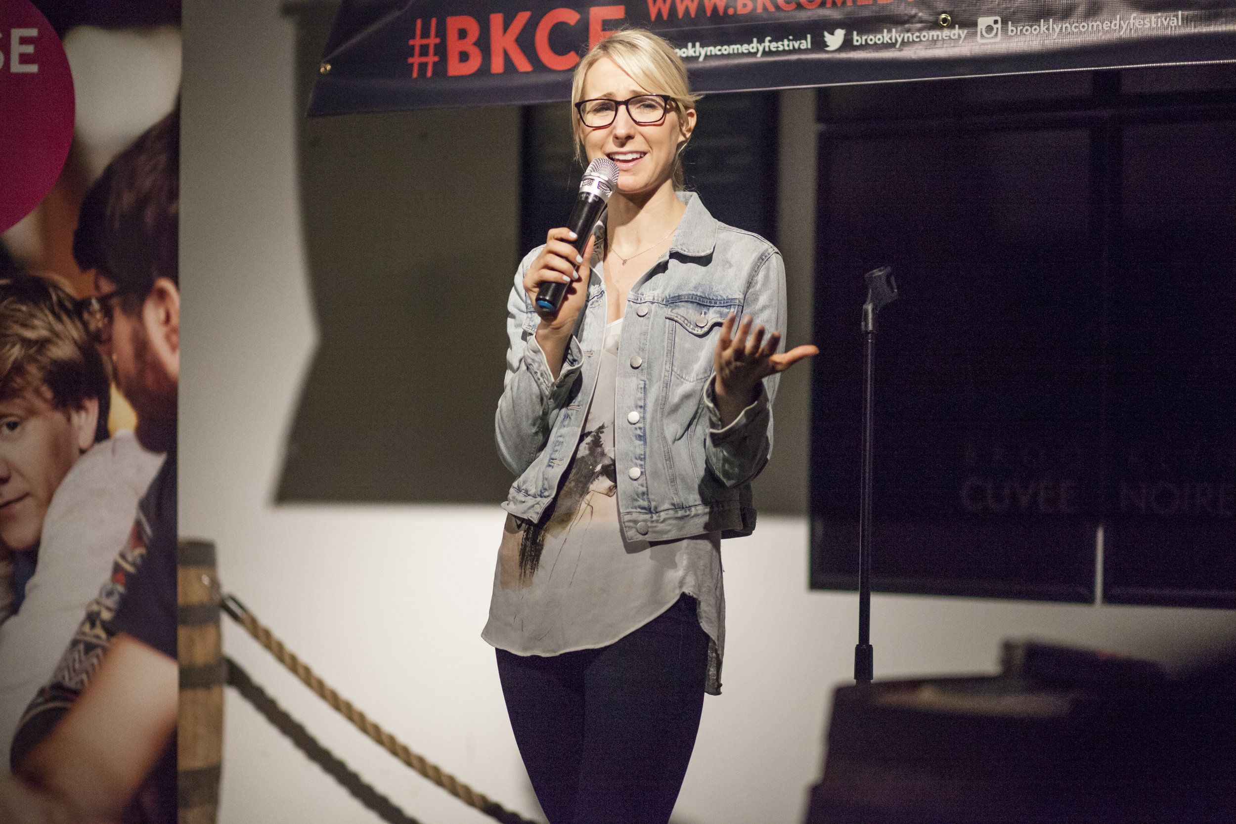 Nikki Glaser @ Brooklyn Brewery 2014