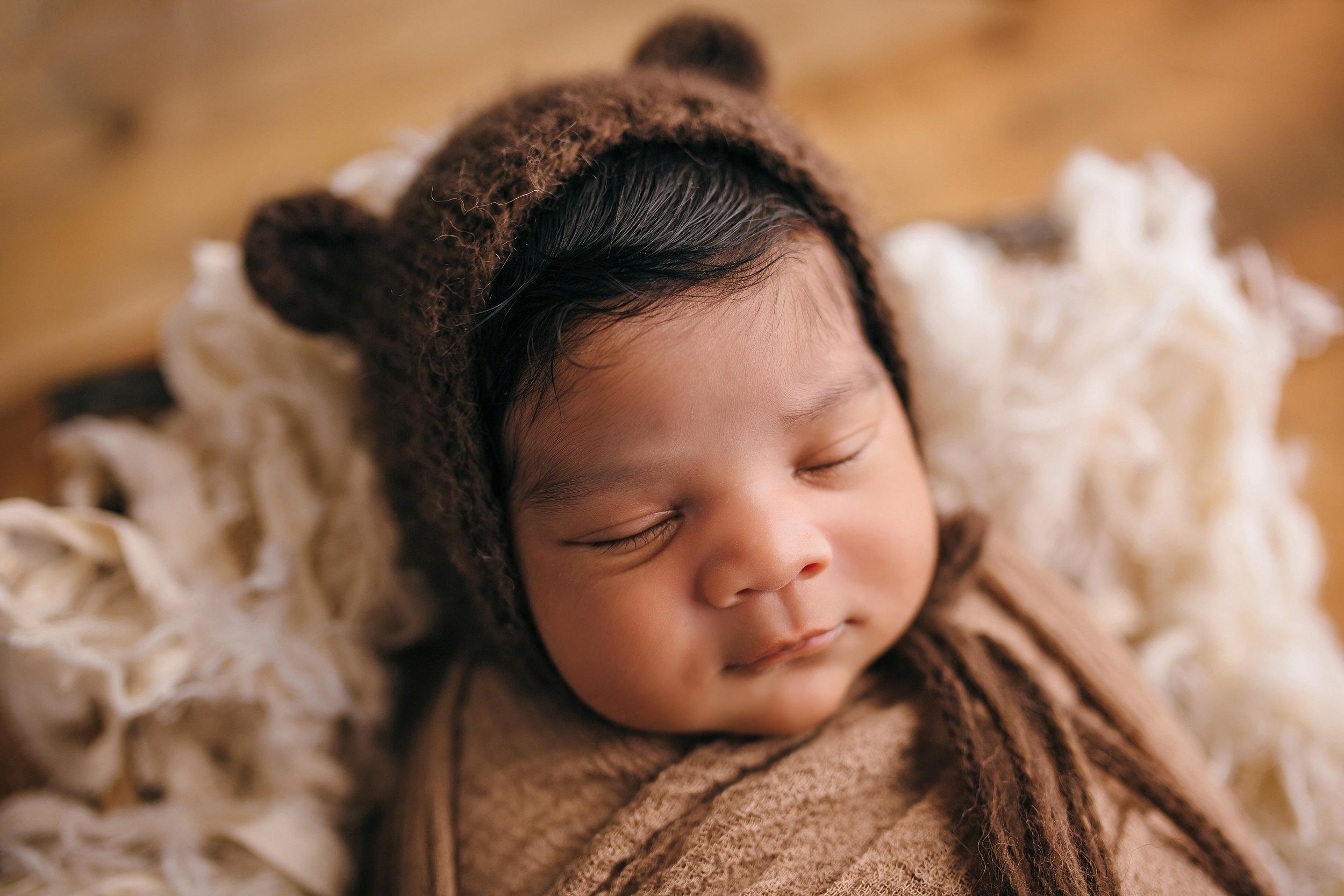 Hello There, Love. | Our Little Bear | Jaxon's Newborn Portraits