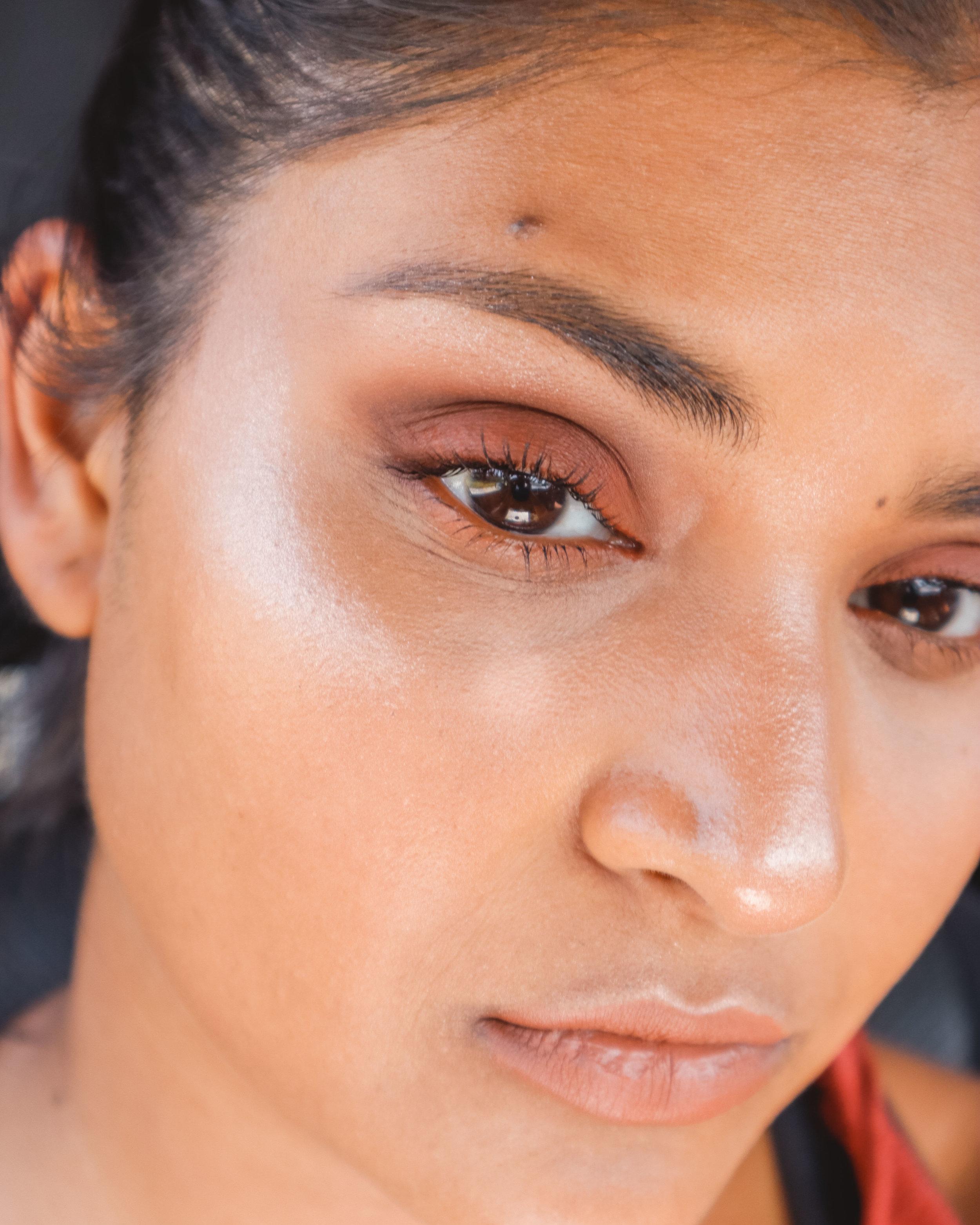 Orange Fall Inspired Makeup Look | hello vashti