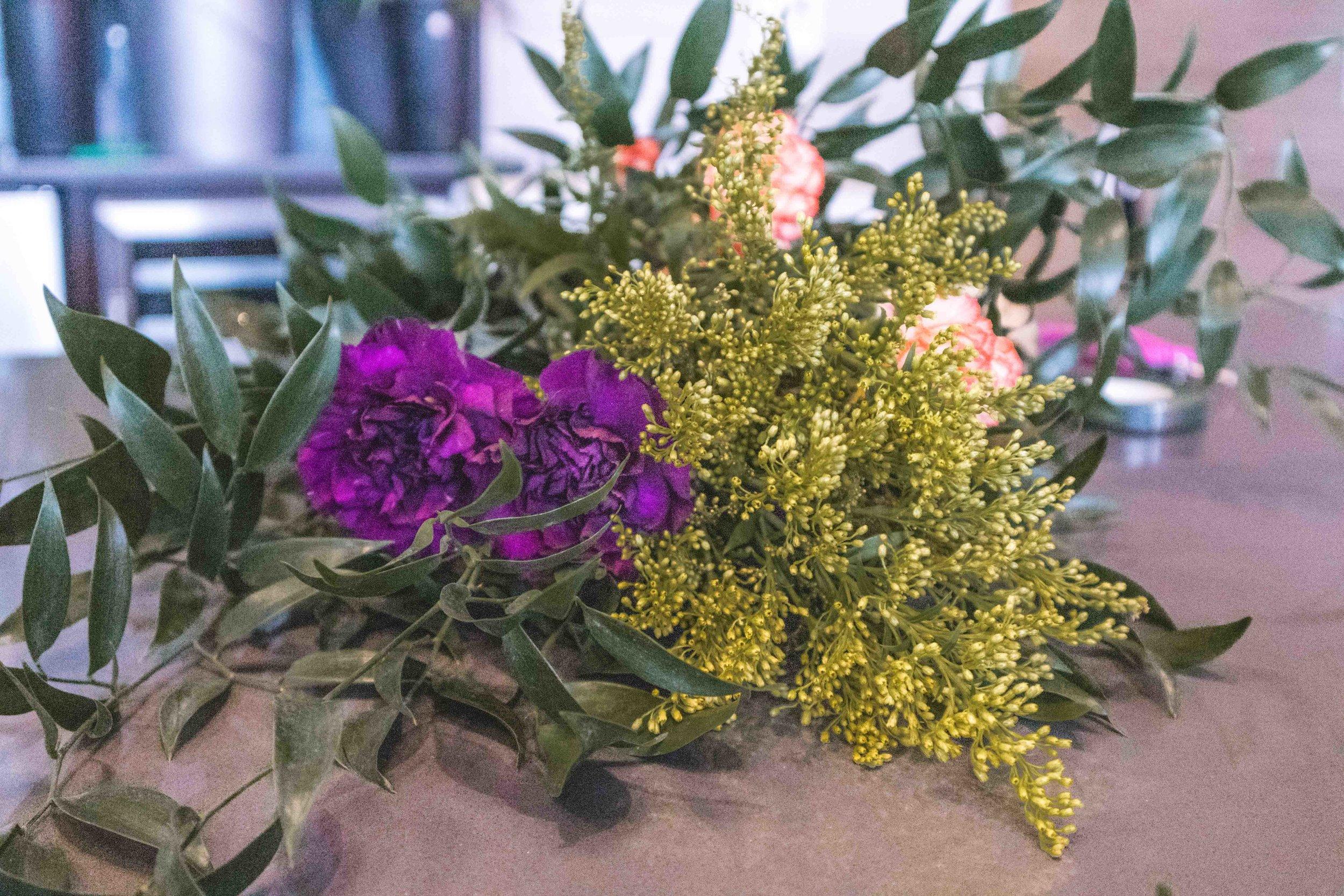 Casa de Flores DIY floral class   hello vashti