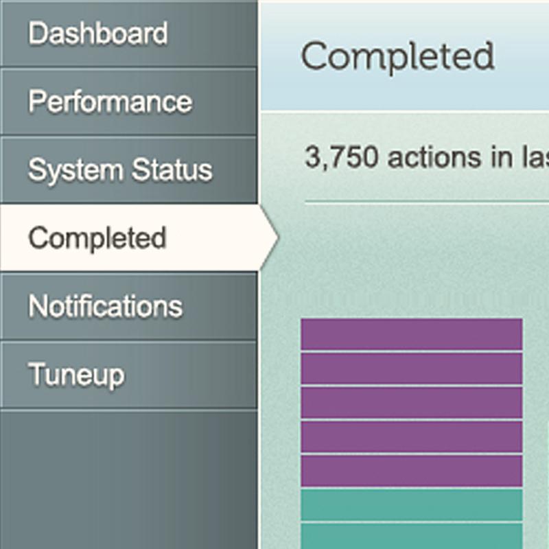Dell Concierge:  Desktop Application