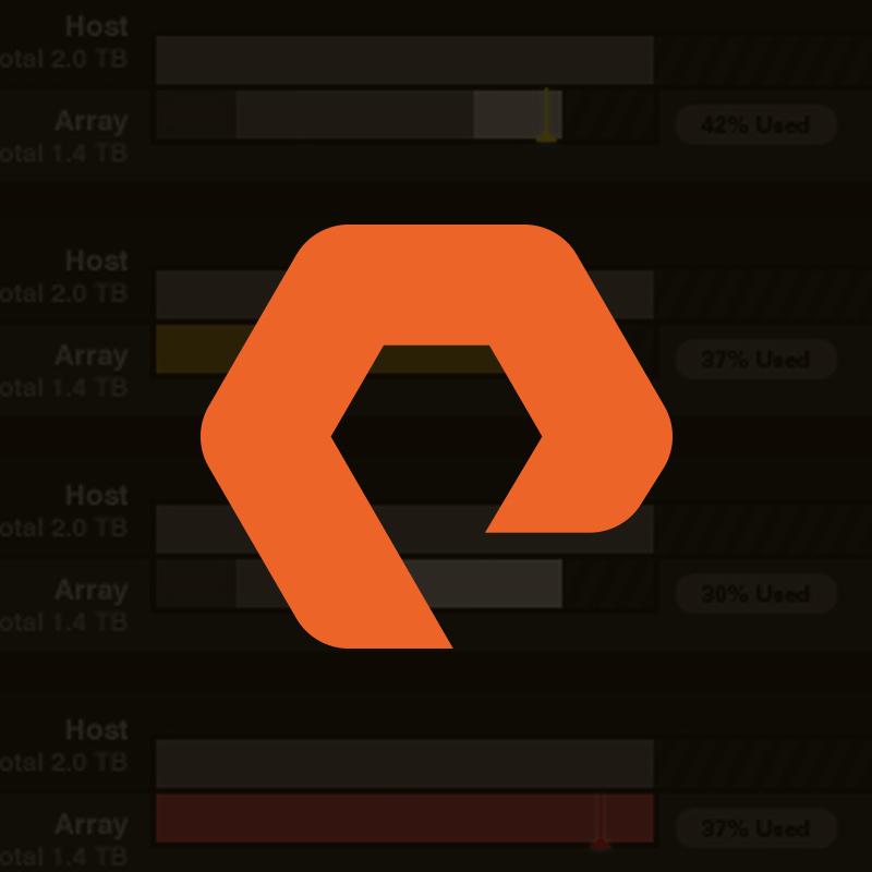 PureStorage:  Branding, Corporate Website & Desktop Application