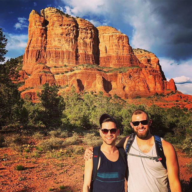 Happy Dirty Thirty to my good friend and hiking buddy, Tyler (@_tloper )! Hope you're enjoying Monument Valley! • • • • • • • • • • • • • • • • • • • • • #vacation #sedona #hiking #redrocks #sedonaarizona #arizona #hike #love #naturephotography #mountain #rocks #photography #photooftheday #photographer #photo #potd #bellrock #hike #hiker #hikearizona #hikesedona #hikes #hikers #sunset #sunsets #dirty30  #birthday