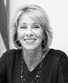 DeVos need a tie-breaking vote from Vice President Mike Pence in order to be confirmed as Secretary of Education (Photo/Wikipedia)