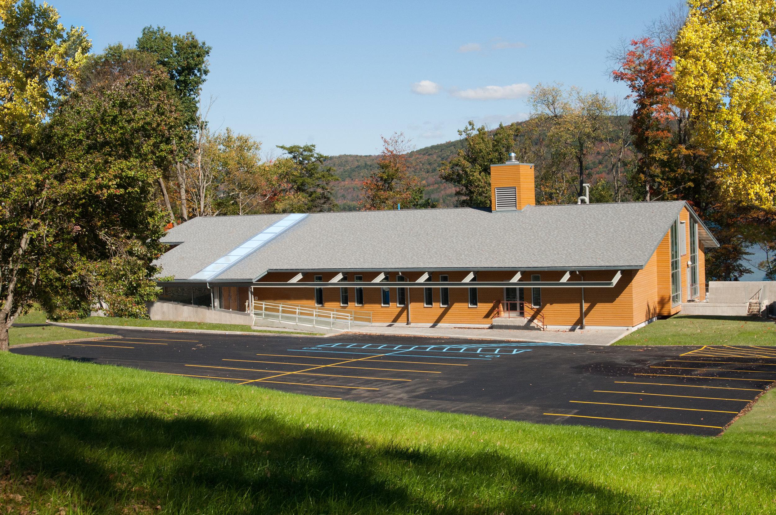 The Cooperstown Graduate Program building