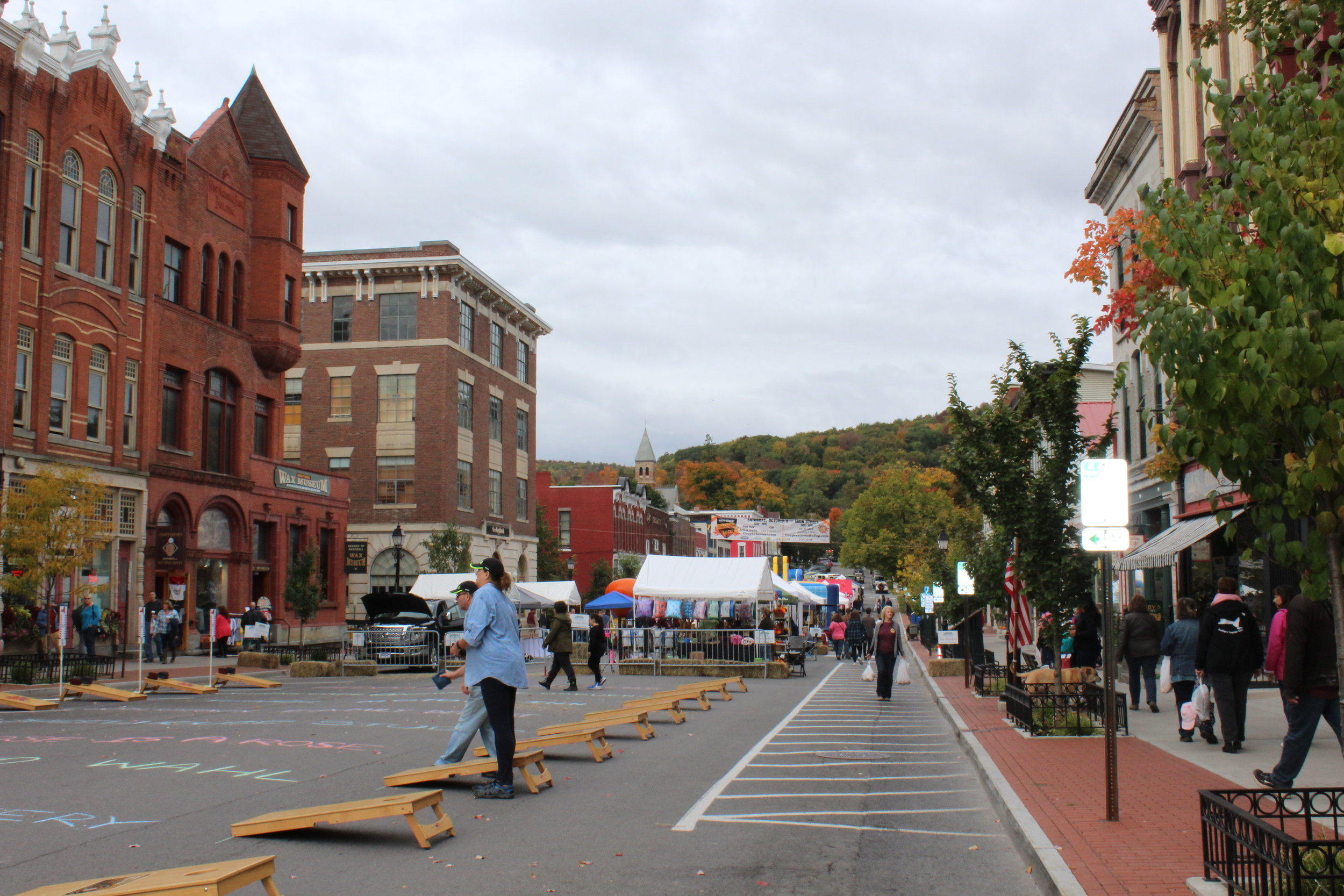 Cooptoberfest, Cooperstown's annual fall festival