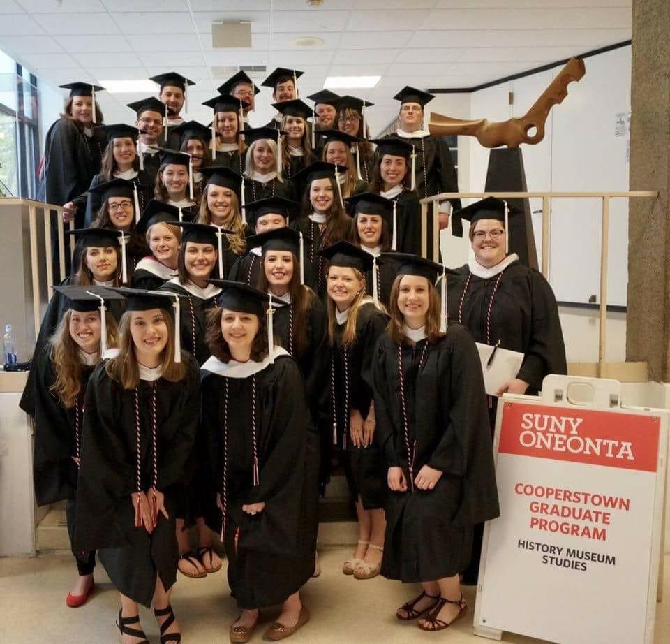 Oneonta Graduation 2020.News Events The Cooperstown Graduate Program