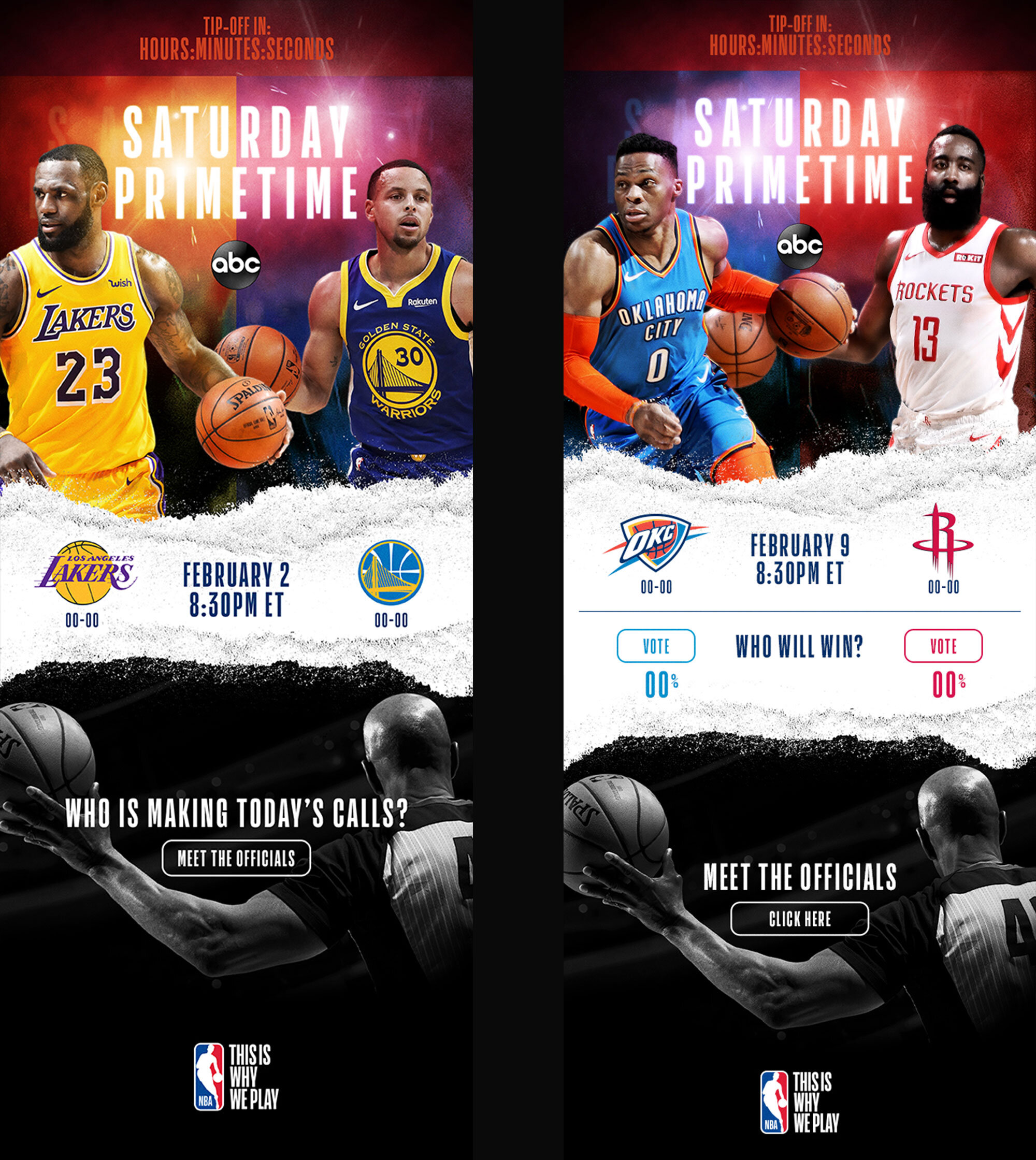 NBA Email Campaign / Agency: NBA