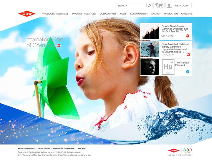 DOW website / Agency: R/GA