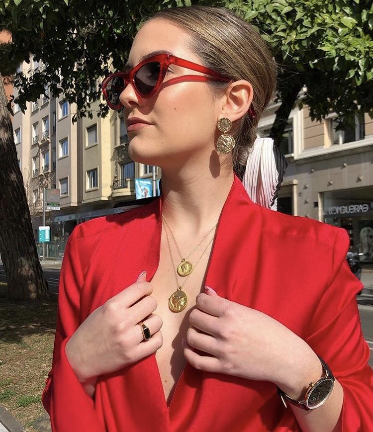 "@angelysballesteros featuring  ""Santorini Medium Coin and Santorini Small Coin"""