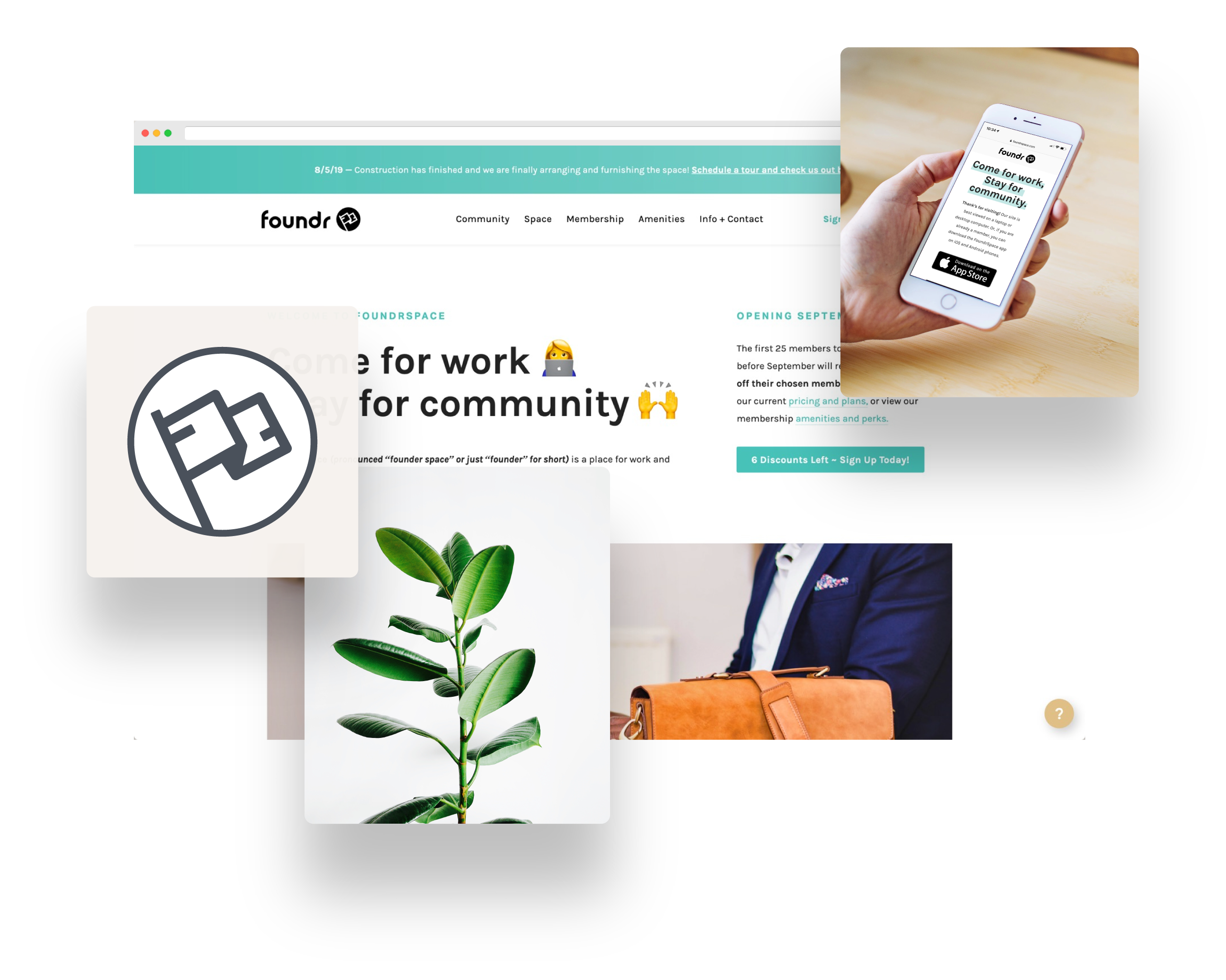"""FoundrSpace - Owner, Creative DirectorFoundrSpace (pronounced """"founder space"""") is a place for coworking and community for the modern professional. FoundrSpace is currently located in Rancho Cucamonga, CA."""
