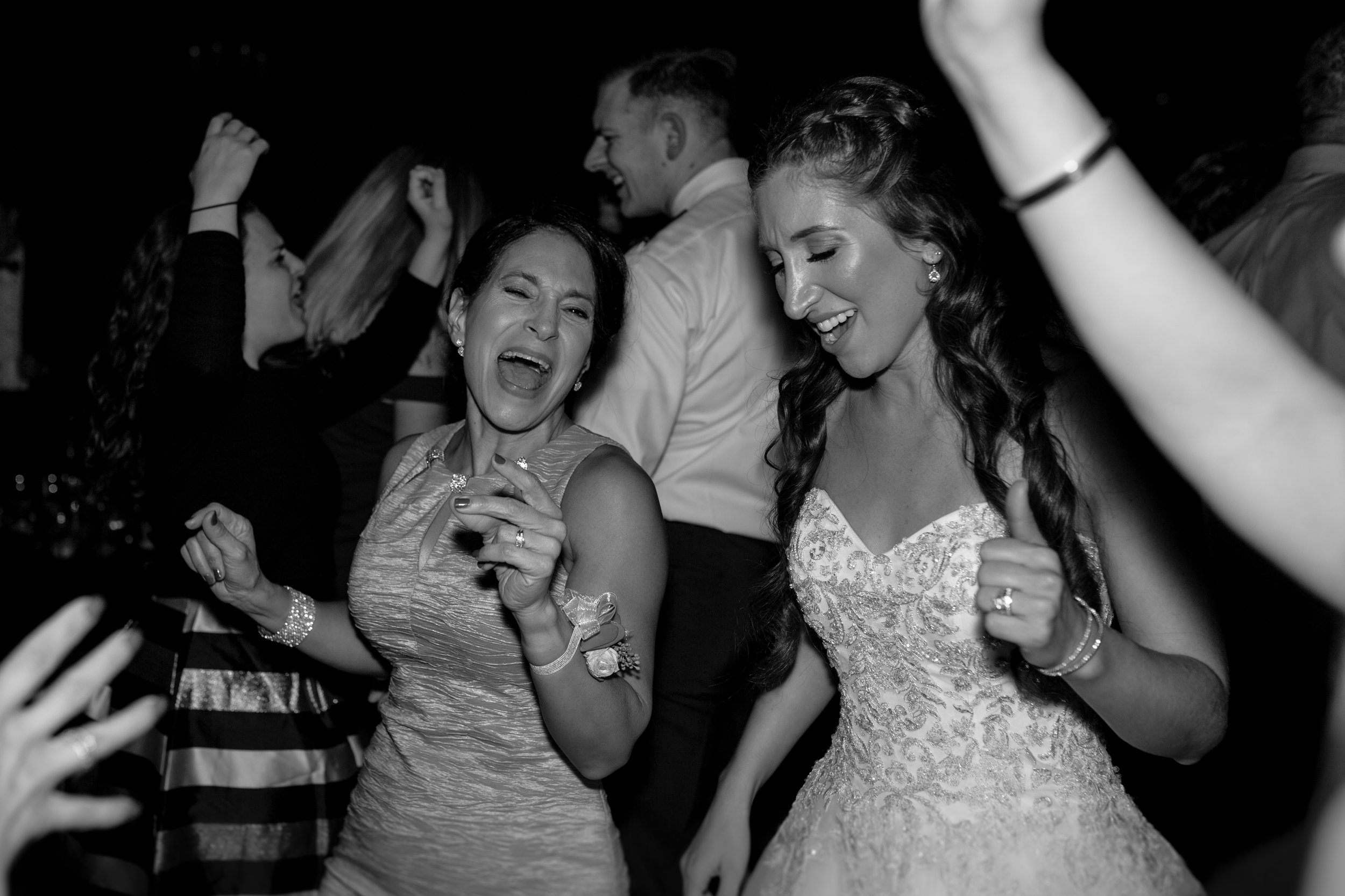 Mother and Bride Dancing Together