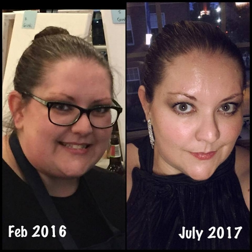 "My July ""face to face Friday"" - feeling proud of where I am!"