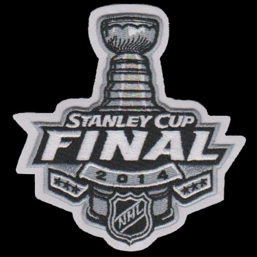 WANTED - 2014 Stanley Cup Finals patched jersey