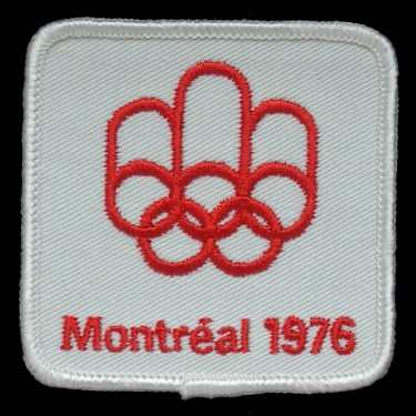 WANTED - 1976 Montreal Summer Olympics patch worn during the 1975-76 season