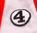 WANTED - Barry Ashbee '4' memorial patch worn during the 1977-78 season