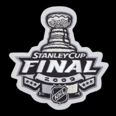 WANTED - 2009 Stanley Cup Finals patched jersey
