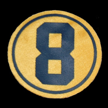 WANTED - Bob Plager yellow memorial patch worn in the spring of 1988.