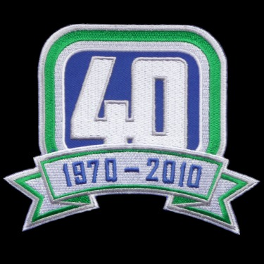 WANTED - Canucks 40th anniversary patch worn during the 2010-11 season