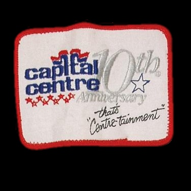 WANTED - Capitals Centre´s 10th Anniversary patch worn during the 1983-84 season