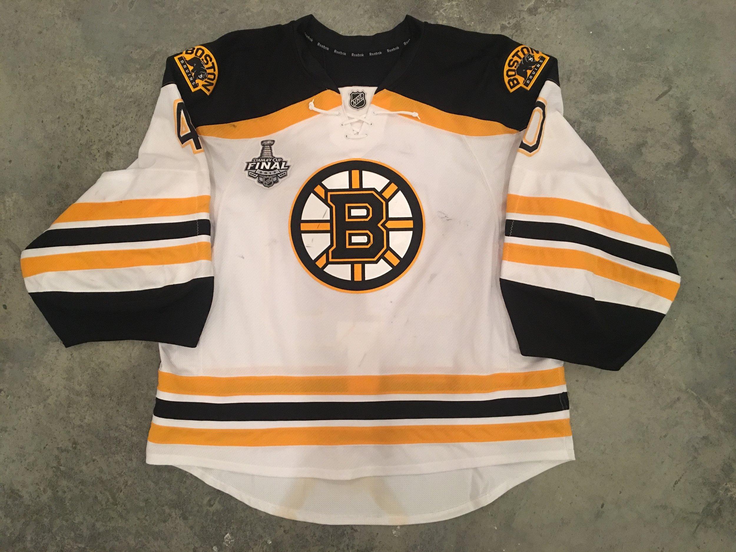 Tuuka Rask Boston Bruins Game Worn Jersey - 2014 Vezina Winner