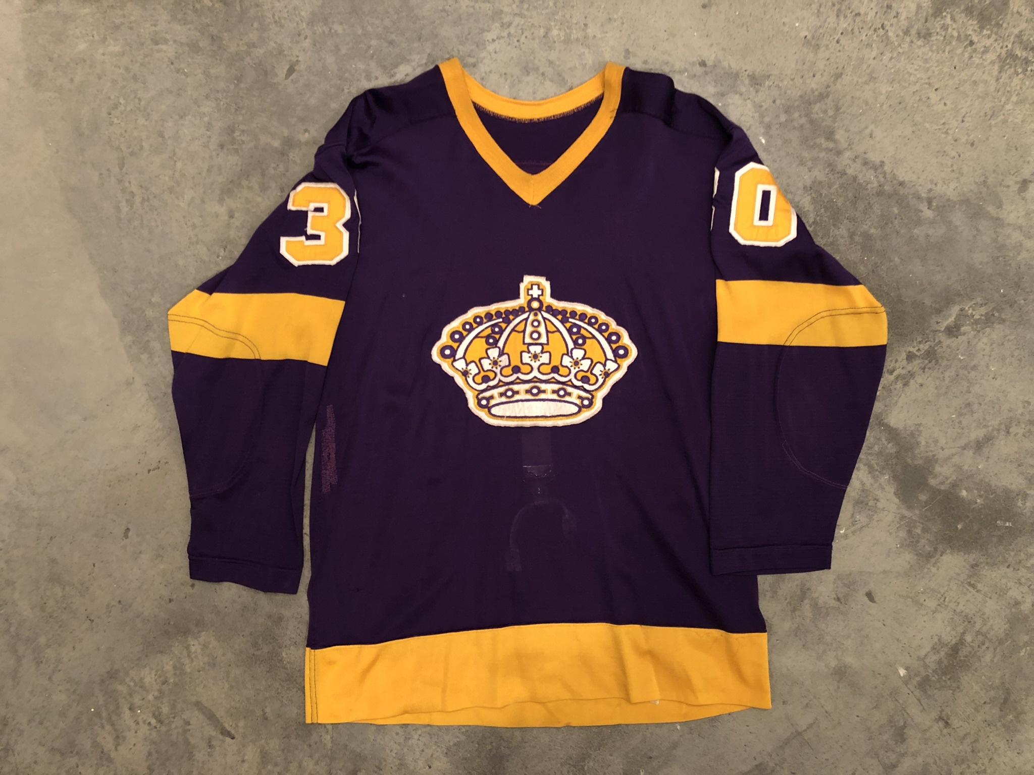 Rogie Vachon Los Angeles Kings Game Worn Jersey - 1968 Vezina Winner